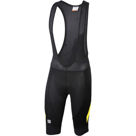 Sportful Neo Bib Shorts Herren black/tweety yellow